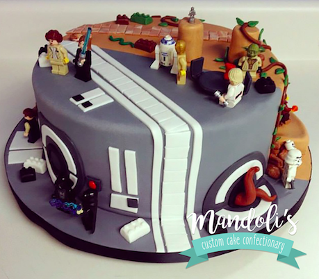 Star Wars Theme Cake