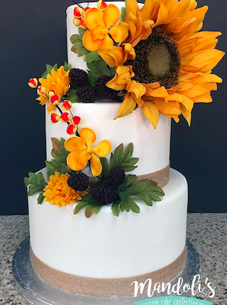 A Sunflower Cake