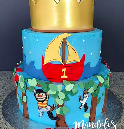 Child's Book Birthday Cake