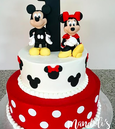 A Mickey And Minnie Birthday Cake Mandoli S