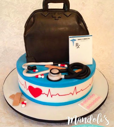 A Doctor Theme Cake