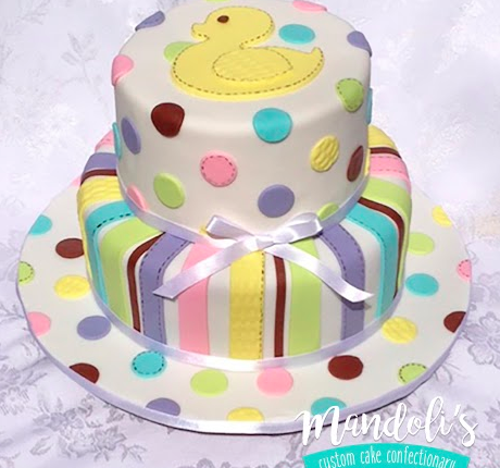 A Baby Duck Tier Cake