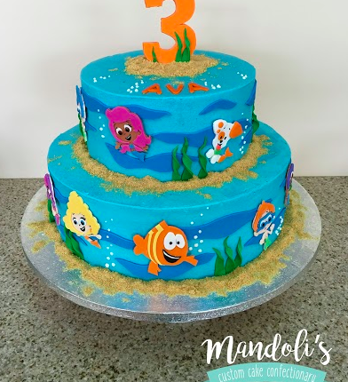 A Bubble Guppies Cake