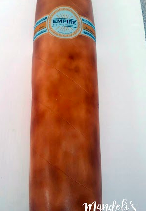An Empire Cigar Cake