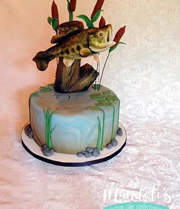 An Under Water Fish Cake