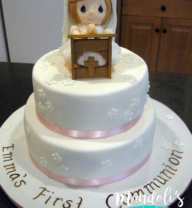 A First Communion Cake