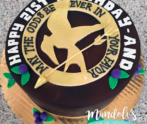 Hunger Games Birthday Cake